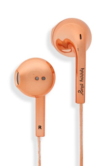Happy Plugs Earbud Plus In-Ear Headphones