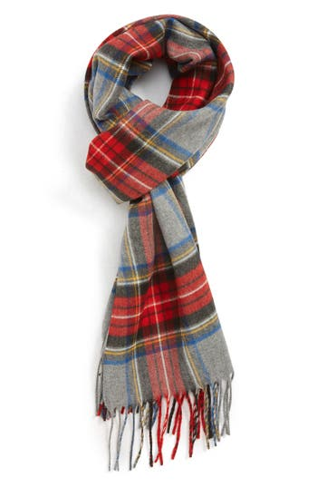 The Rail Tartan Fringed Scarf