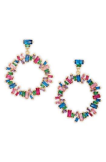 gorjana Amara Cluster Hoop Earrings