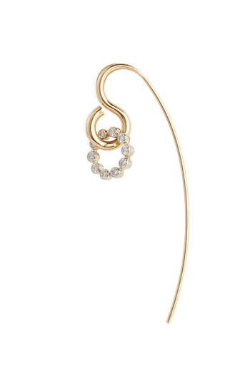 Charlotte Chesnais Swing Diamond Earring