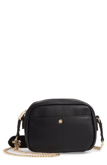 Mali + Lili Cassidy Vegan Leather Crossbody Camera Bag