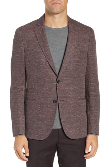 BOSS Norwin Slim Fit Cotton Blend Blazer