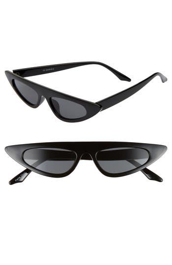 Glance Eyewear 50mm Flat Top Cat Eye Sunglasses