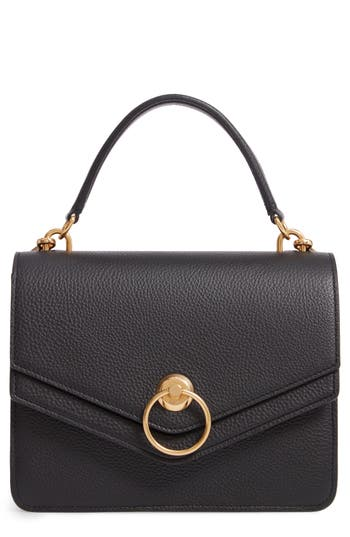 Mulberrry Harlow Calfskin Leather Satchel