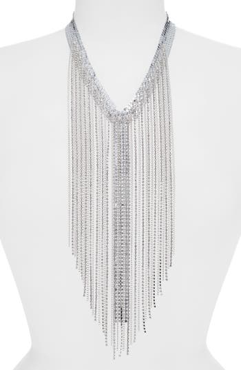 Leith Crystal Duster Necklace