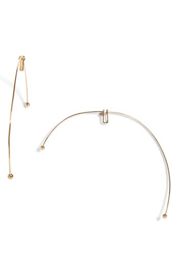Y/Project Large Semi Hoop Earrings