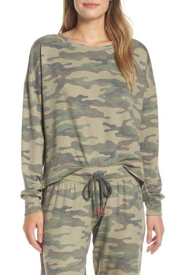PJ Salvage Camo Lounge Sweatshirt
