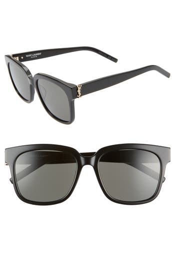 Saint Laurent 54mm Square Sunglasses