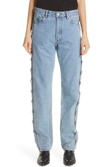 Martine Rose Side Panel Jeans