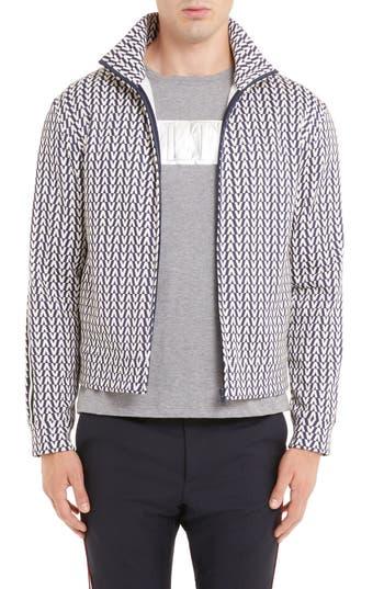 Valentino Print Zip Jacket