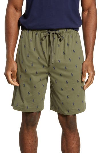 Polo Ralph Lauren Allover Print Knit Shorts