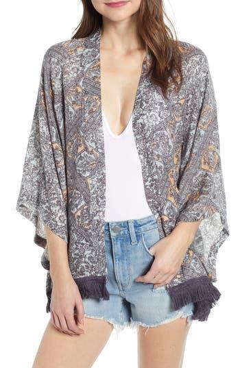 Treasure & Bond Fringe Kimono