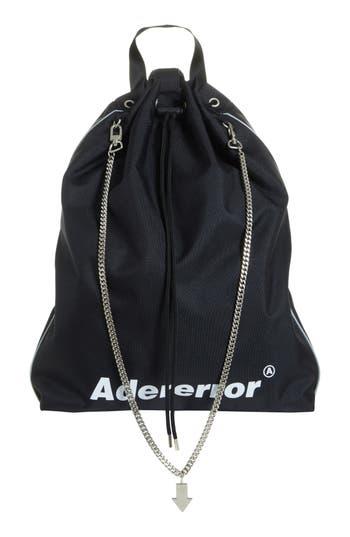 Ader Error Drawstring Convertible Messenger/Crossbody Bag