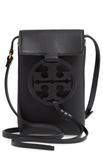 Tory Burch Miller Leather Phone Crossbody Bag