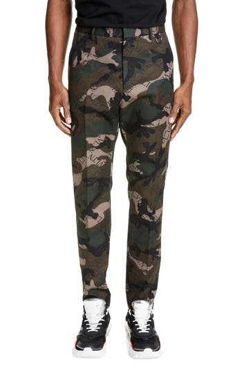 Valentino VLTN Camo Slim Fit Pants