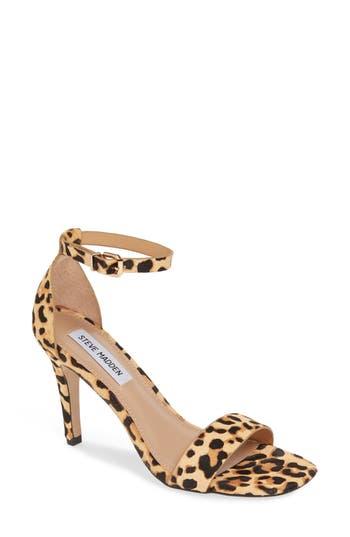 Steve Madden Evette Genuine Calf Hair Sandal (Women)