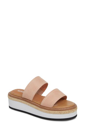 Alias Mae Niacin Platform Espadrille Slide Sandal (Women)