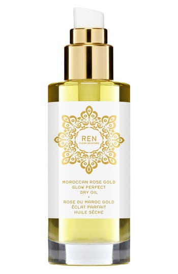 Space. nk. apothecary Ren Moroccan Rose Gold Glow Perfect Dry Oil