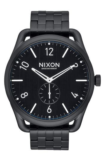 Men's Nixon 'C45' Bracelet Watch, 45Mm