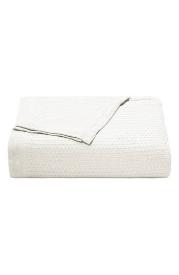 Nautica 'Baird' Cotton Blanket, Size Twin - White