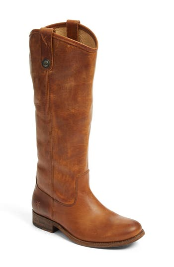Women's Frye 'Melissa Button' Leather Riding Boot