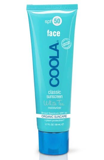 Coola Suncare White Tea Sport Face Moisturizer Spf 50