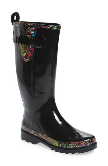 Sakroots Rhythm Waterproof Rain Boot (Women)