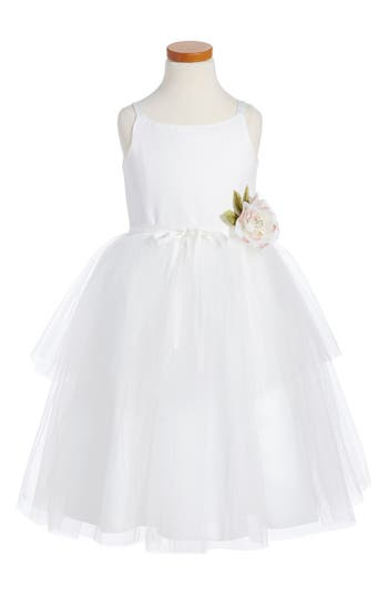 Girls Us Angels Tulle Ballerina Dress Size 10  Ivory