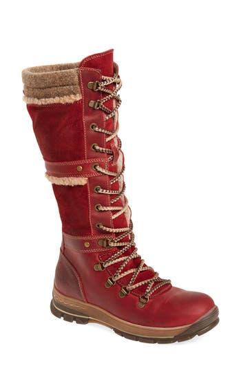 Bos. & Co. Gabriella Waterproof Boot - Red