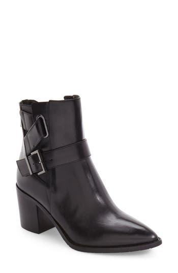 Women's Kenneth Cole New York Quincie Strappy Chelsea Boot, Size 5 M - Black