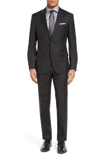 Men's Boss 'Huge/genius' Trim Fit Wool Suit