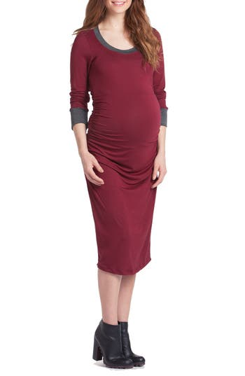 Lilac Clothing Body-Con Maternity Dress