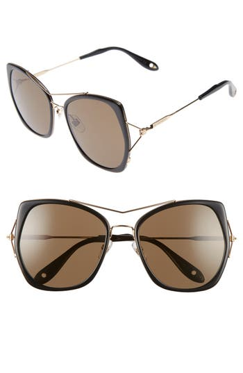 Women's Givenchy 7031/s Airy 55Mm Oversized Sunglasses -