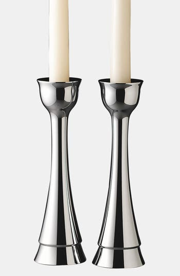 Nambe Candlesticks, Size One Size - None