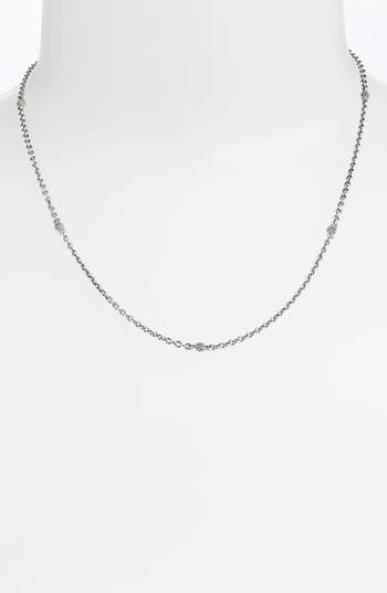 LAGOS Caviar Station Chain Necklace