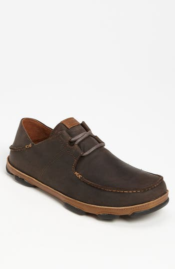 Olukai 'Ohana' Lace Up, Brown (Online Only)