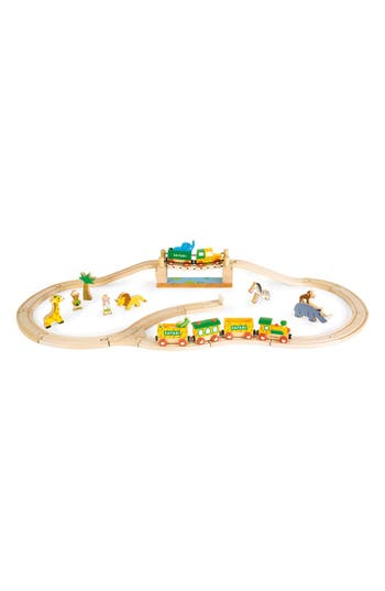 Toddler Janod Story Express  Safari Train Set