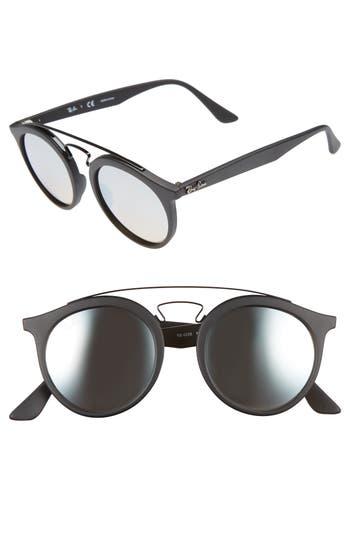 Ray-Ban Highstreet 4m Gatsby Round Sunglasses - Grey Gradient