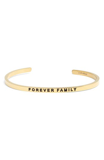 Mantraband Forever Family Cuff