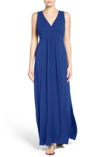 Caslon Knit Maxi Dress, Blue