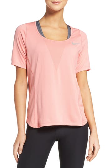 Nike Zonal Cooling Relay Tee, Pink