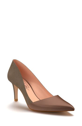 Shoes Of Prey Pointy Toe Pump, Brown
