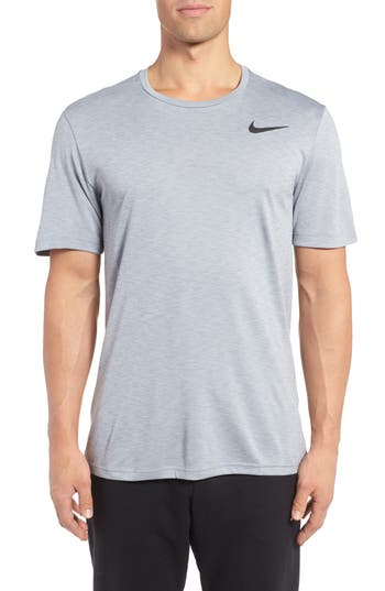 Nike Hyper Dry Training Tee, Metallic