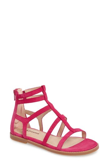 Hush Puppies Abney Chrissie Cage Sandal, Pink
