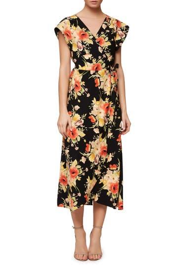 Women's Sanctuary Cassadei Floral Wrap Dress