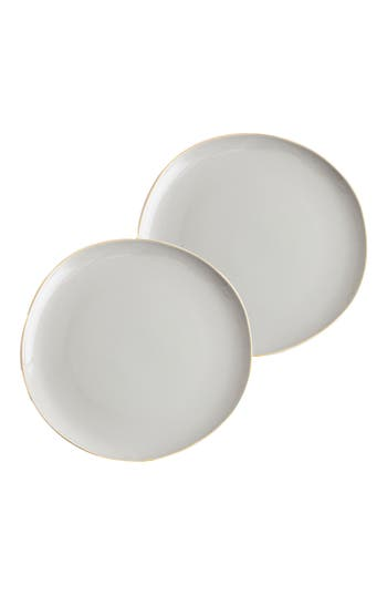 Rosanna Pacifica Set Of 2 Plates