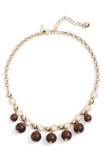 Women's Kate Spade New York Second Nature Frontal Necklace