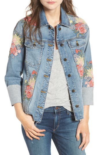 Women's Joe's Belize Embroidered Denim Jacket
