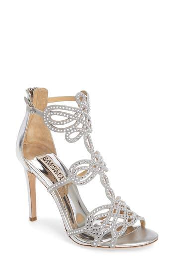 Badgley Mischka Teri Sandal, Metallic
