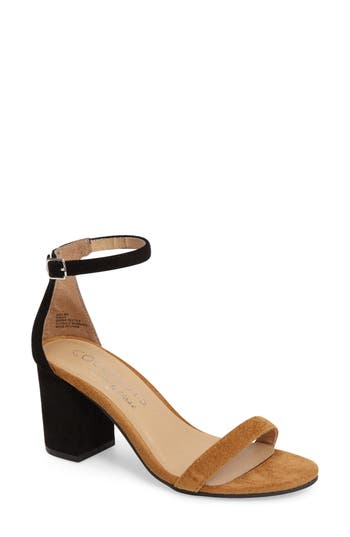 Coconuts By Matisse Dinah Ankle Strap Sandal, Black